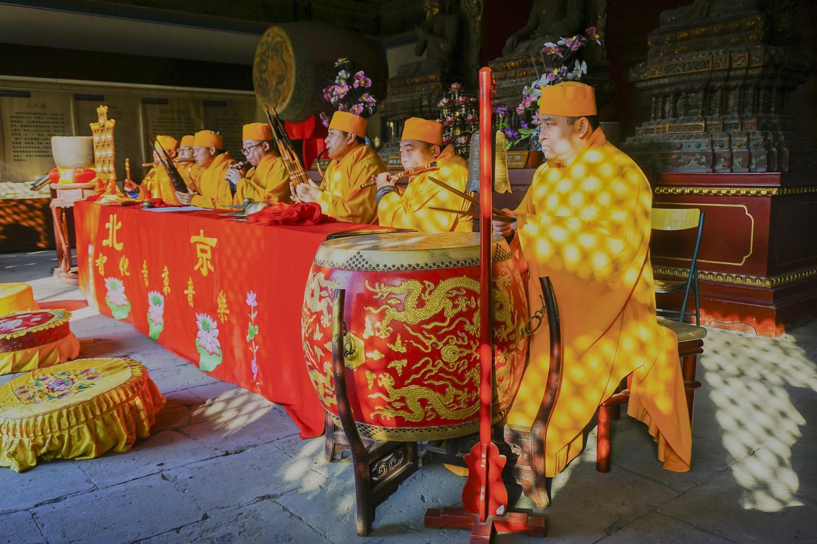 【非遗传承--智化寺京音乐】组照6-2   王越   13601098050    2017年1月11日拍摄于北京智化寺_副本.jpg